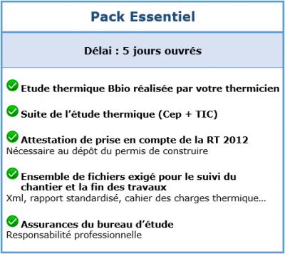 Pack Essentiel
