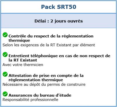 Pack SRT50